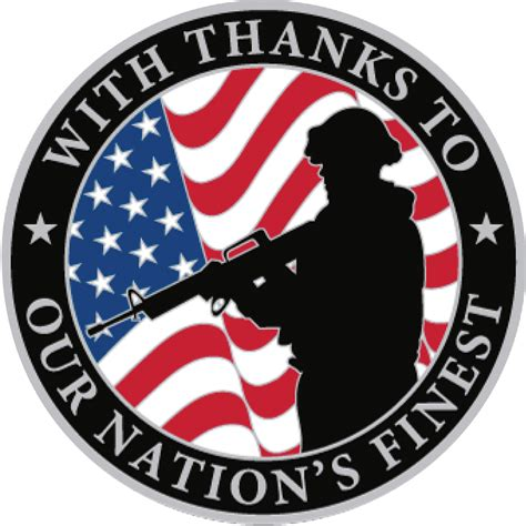 military armed forces logo our commitment to veterans falken security