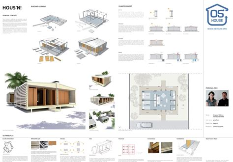 open source house plans winners of open source housing competition archdaily