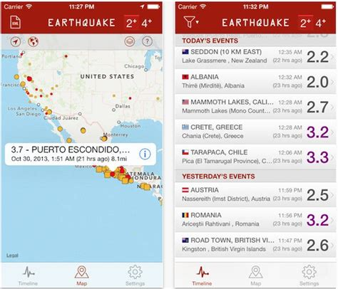 earthquake app the best iphone apps for tracking earthquakes