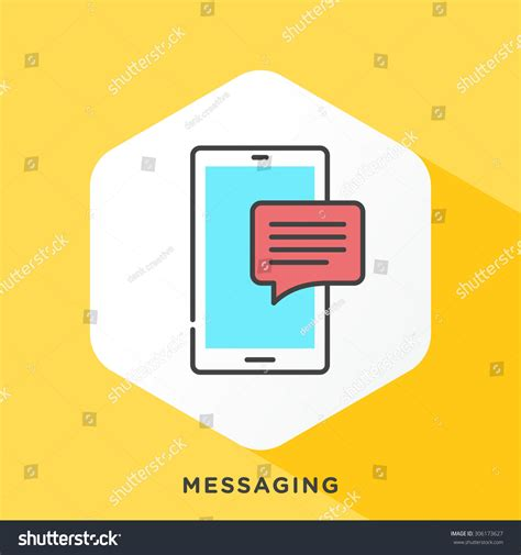 Outline Offset Color smartphone icon grey outline offset stock vector 306173627