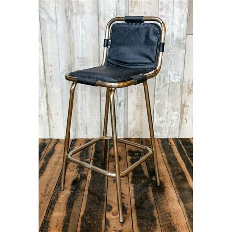 bar stool leather seat factory bar stool with leather seat n b vintage