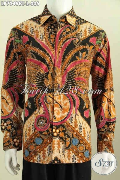 Batik Tulis Keris Kombi Kawung Limited jual produk batik lengan panjang mewah daleman