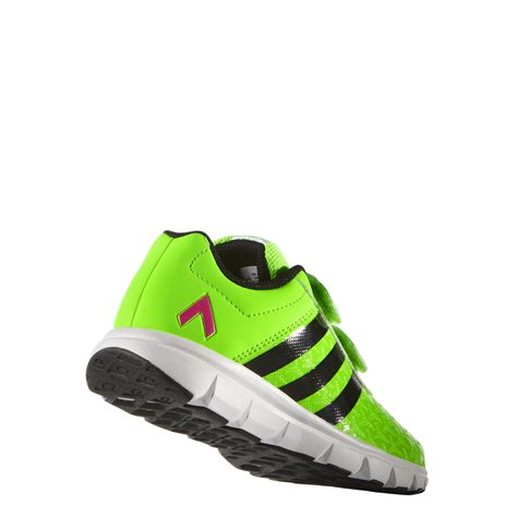 adidas boys ace shoe sizes 3 5 5 in green excell sports uk