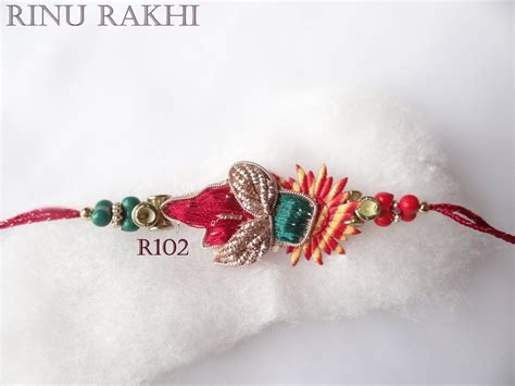 Beautiful Handmade Rakhi - beautiful handmade sadi moli rakhi shopping