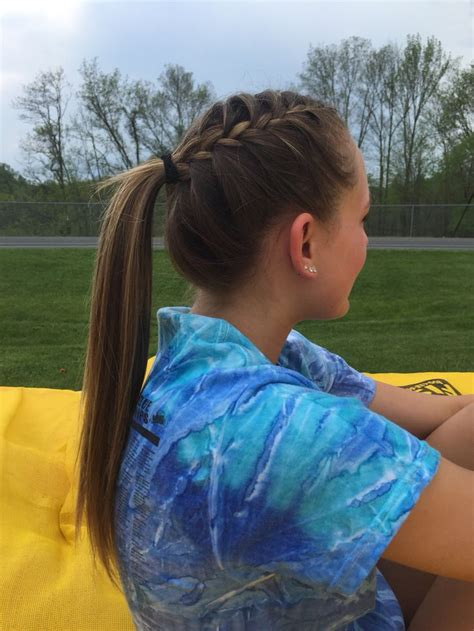 how to style hair for track and field 20 best ideas about volleyball hair on pinterest