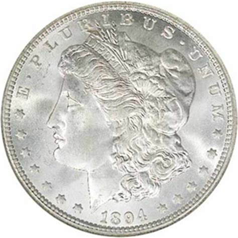 1894 silver dollar 1894 o silver dollar