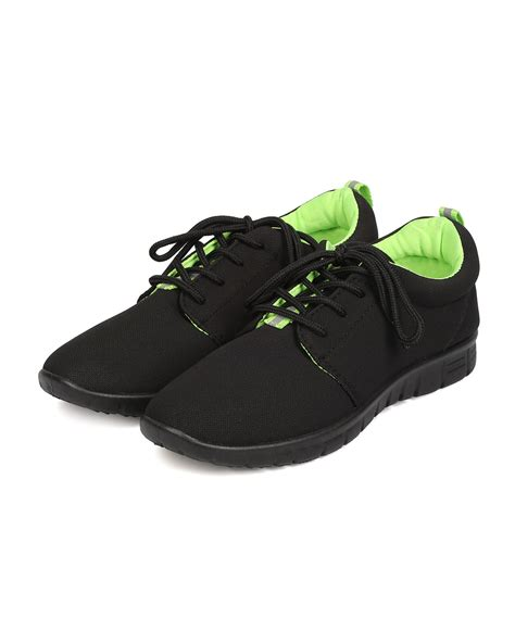 new refresh jump 02 canvas lace up neon lined