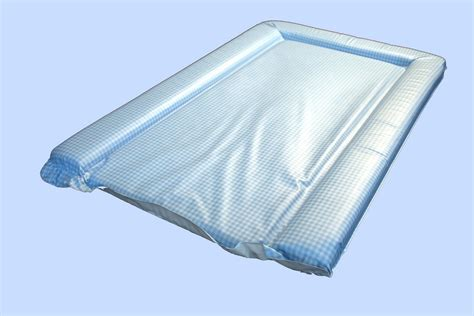 Gingham Changing Mat by Changing Mat In Mick Gingham Blue