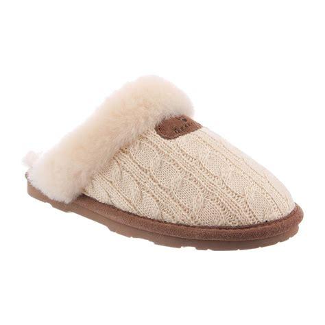 shearling slippers womens bearpaw effie s sheepskin slipper 1674w all