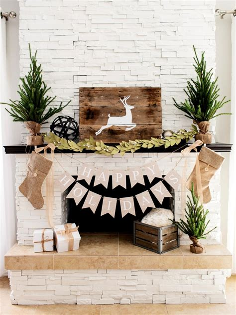 Diy Fireplace Mantel Ideas by Rustic Elegance Earth Tones And Elements Make For