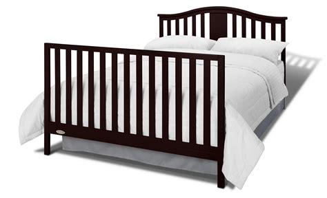Convertible Crib Mattress Graco Solano 4 In 1 Convertible Crib And Bonus Mattress Espresso Baby