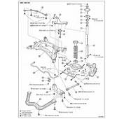 Manual Front Suspension Diagram From A 2003 350z Rear