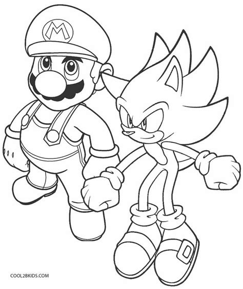 sonic the hedgehog coloring pages games printable sonic coloring pages for kids cool2bkids