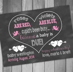 valentines pregnancy announcement s pregnancy reveal chalkboard pregnancy announcement