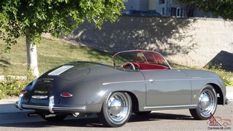 porsche slate 1957 porsche 356 vintage speedster brand new slate grey