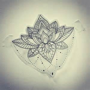 Lotus Flower Mandala 25 Best Ideas About Mandala Sternum On