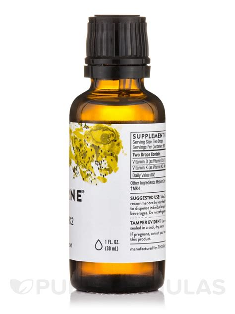 K Liquid Klorofil 2 vitamin d k2 liquid 1 fl oz 30 ml