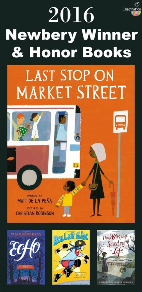 last stop in a handley mystery books 2016 newbery and caldecott winners imagination soup
