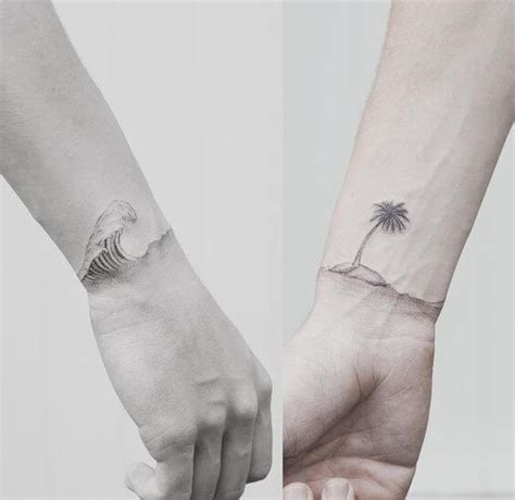 tattoo couple on beach small tattoos for men ideas and designs for guys
