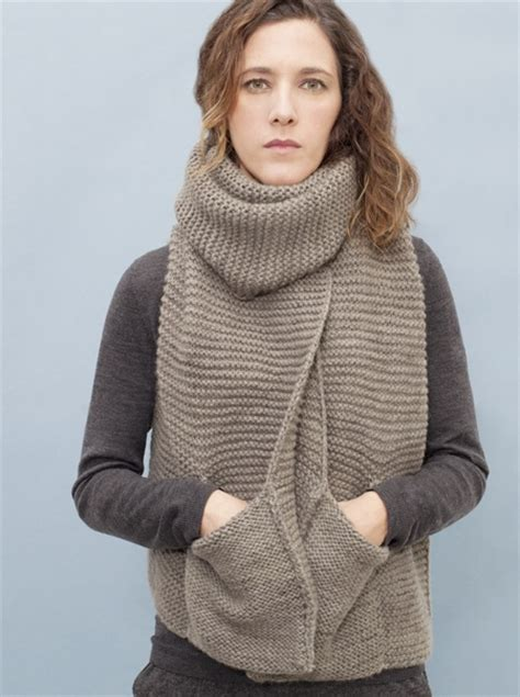 knitting pattern for scarf with pockets pocket scarf by knitbrary normally i m not crazy about