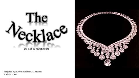 the necklace by de maupassant
