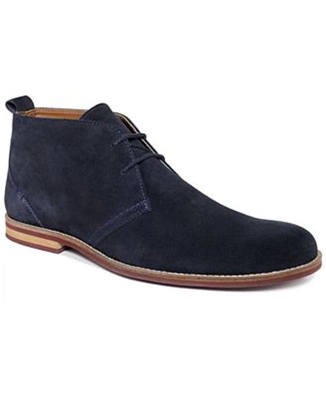 mens alfani boots alfani s shoes brent suede chukka boots shoes