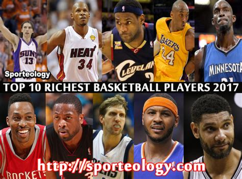 top 10 richest basketball players 2017 sporteology sport world top 10 sport updates