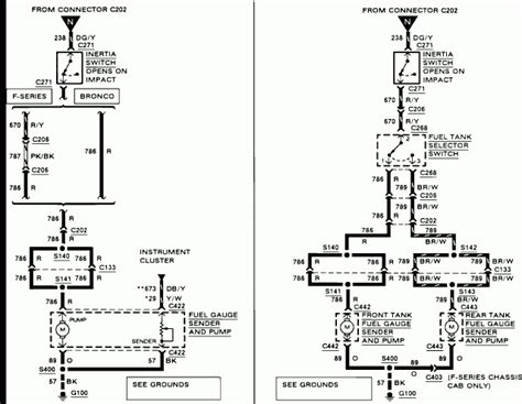 1989 f150 fuel wiring diagram 96 f150 fuel system
