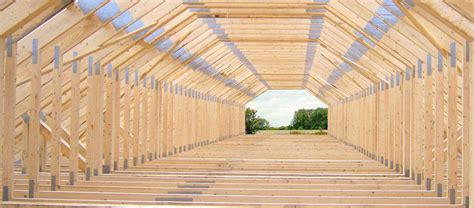 Building A Gambrel Roof by Trustspan Manufactures Timber Attic Trusses