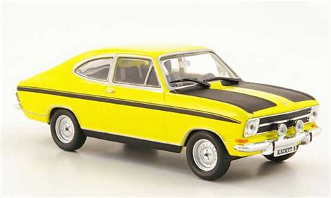 opel yellow opel kadett b coupe yellow black ohne magazin 1972