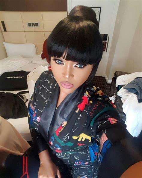 bedroom selfie mercy aigbe shares bedroom selfie celebrities nigeria