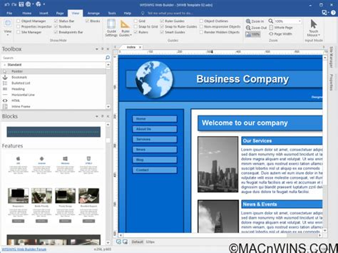 web layout builder wysiwyg web builder 12 1 1 full crack macnwins