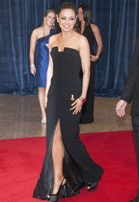 So Longdress Versace new versace black dress mila kunis wore on the