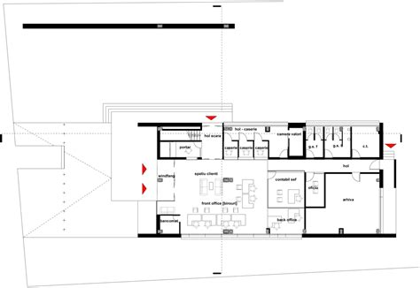 bank floor plans san paolo bank baltasarh parasite studio prz 0 story home interior design ideashome