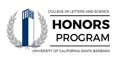 Award Letter Ucsb honors program division of undergraduate education uc