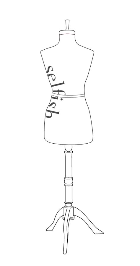 Mannequin Outline by Dress Mannequin Outline Www Imgkid The Image Kid Has It