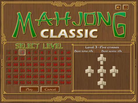 mahjong classic   game gamehouse