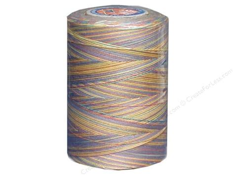 Variegated Thread Quilting by Coats Clark Variegated Mercerized Cotton Quilting