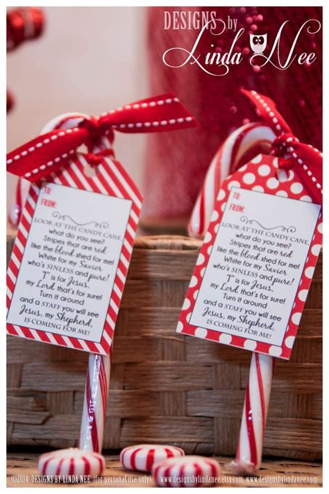 legend   candy cane gift tag card   designsbylindanee scripture special