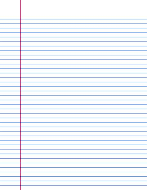 9 Best Images Of Printable Ruled Paper Printable Lined Printable Paper
