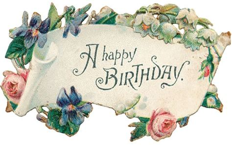 Artistic Birthday Cards Free Clip Art From Vintage Holiday Crafts 187 Birthday