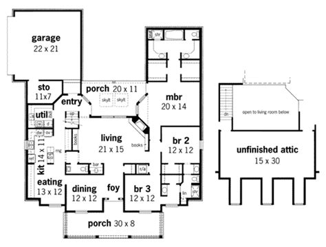 653684 3 bedroom 2 5 bath southern house plan with wrap southern style house plan 3 beds 2 5 baths 2123 sq ft