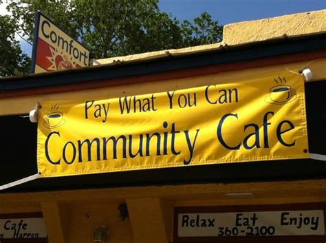 comfort cafe smithville tx quot pay what you can quot donation only community cafe picture