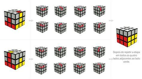 como montar  cubo magico fotos  iniciantes