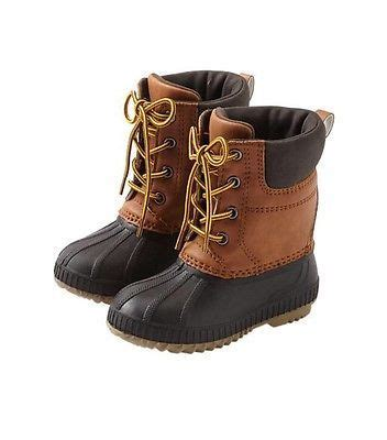 toddler duck boots gap baby toddler boys nwt 7t 8t 3m thinsulate water proof