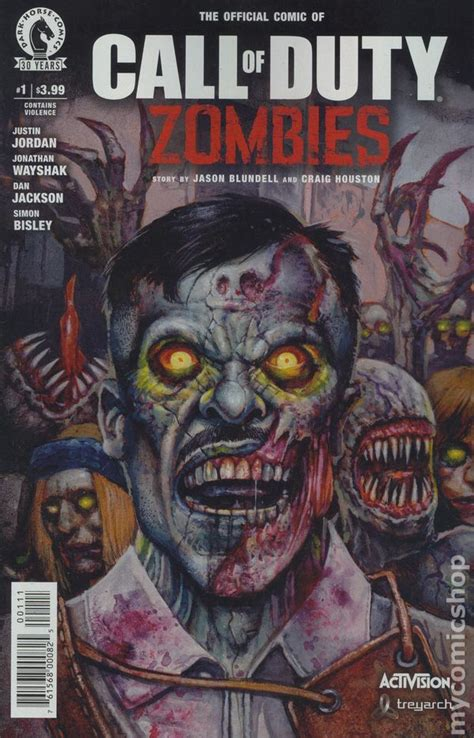 call of duty zombies 2016 comic books