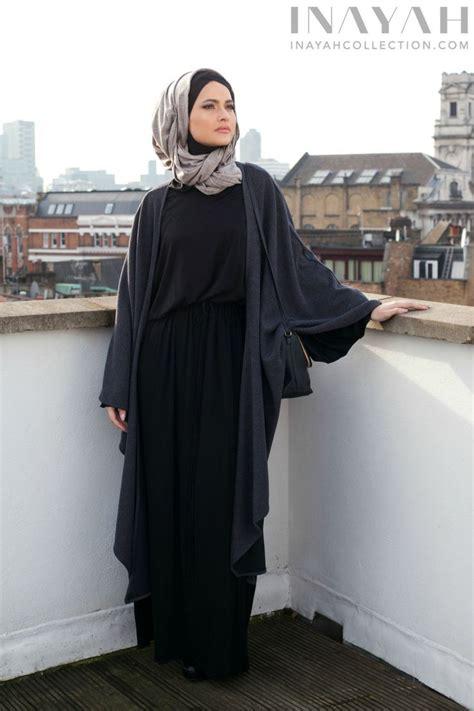 Muslim Fashion Style Grey abayas hijabs jilbabs modest clothing islamic fashion stylish abayas unique hijabs and