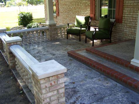 front patio designs front porch concrete floor ideas