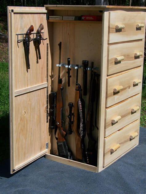 Built In Dresser Diy by Best 25 Gun Cabinets Ideas On Gun Safe Diy