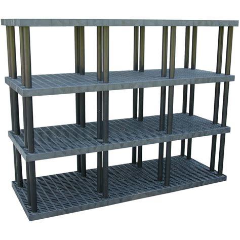 plastic heavy duty shelving plastic stacking shelves